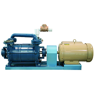 Pompes SiHi à anneaux liquides 2 stages CDL Two-stage SiHi liquid ring pumps