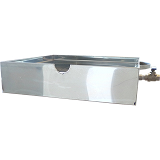 bain-marie CDL water jacketed tank