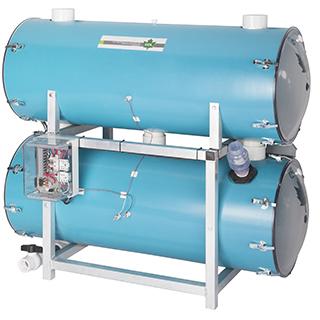 Extracteurs horizontaux avec pompe submersible CDL Low horizontal extractors with submersible pump