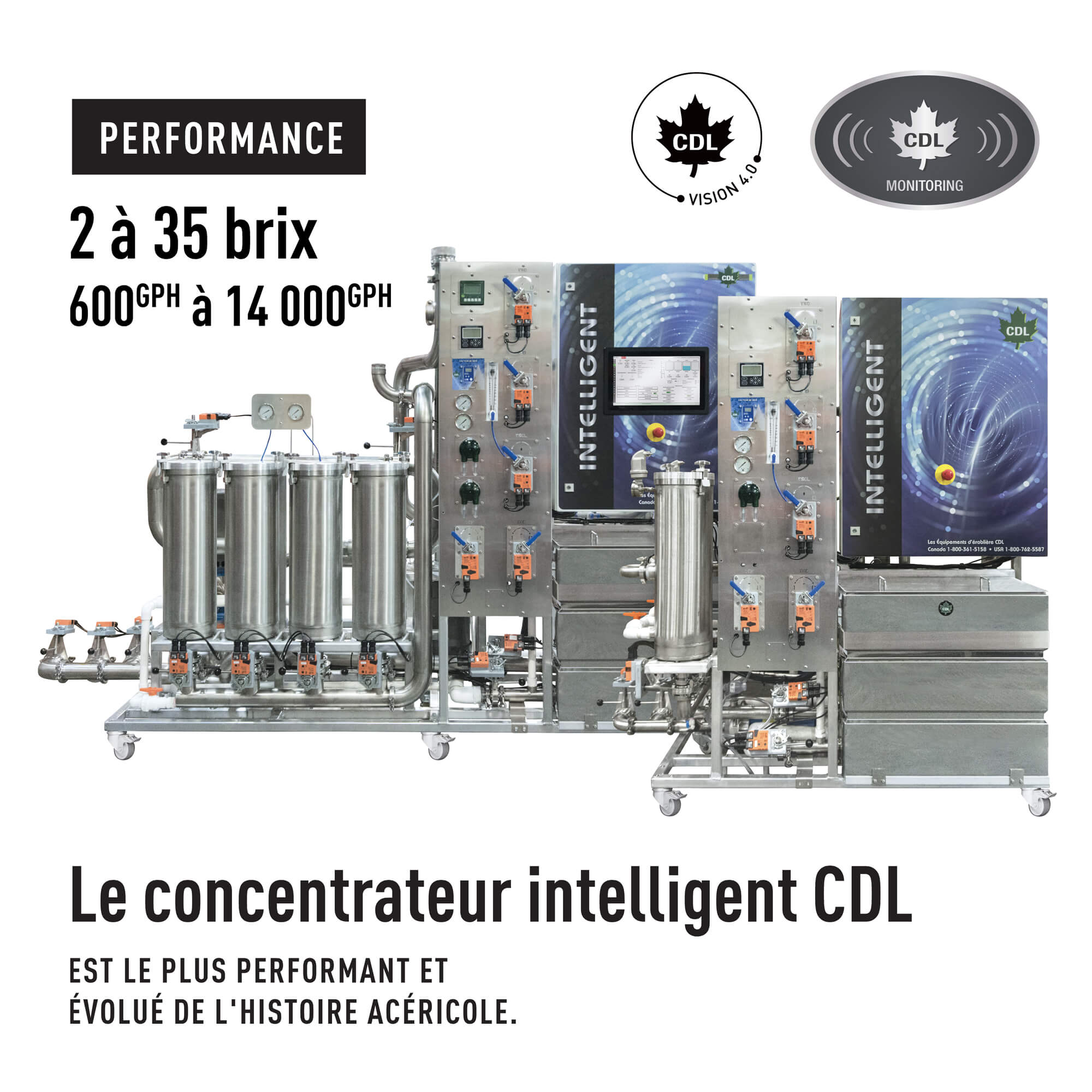 Concentrateurs intelligents CDL