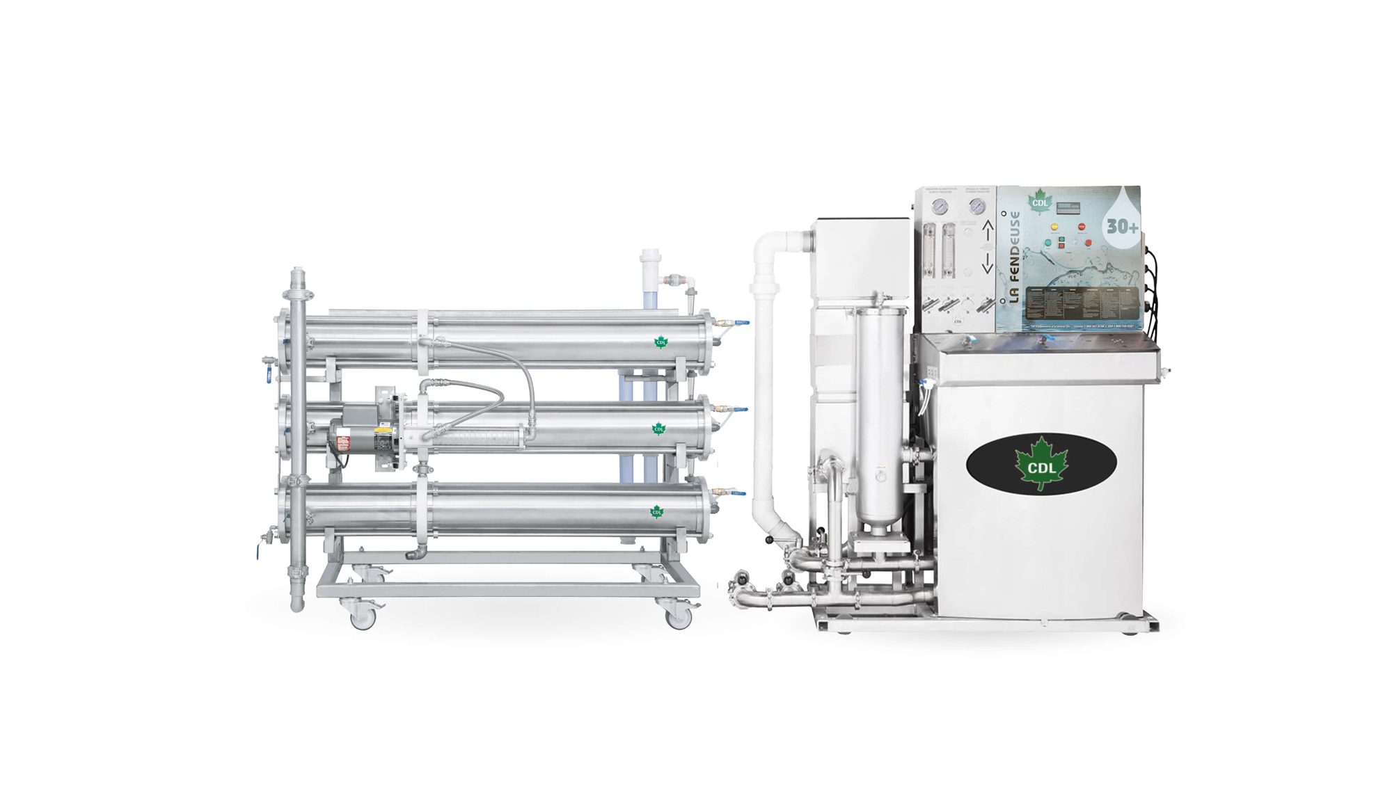 concentrateurs 30+ reverse osmosis