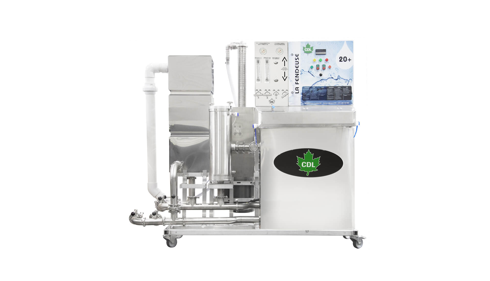 Concentrateur 20+ CDL 20+ Reverse osmosis 7 600 GPH