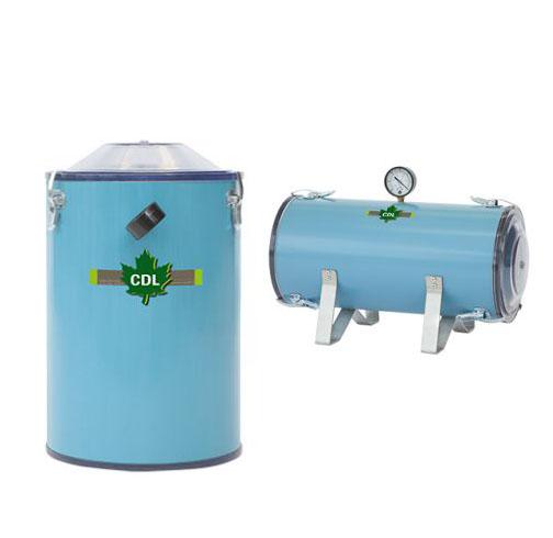 Réservoirs de transfert à paroi épaisse CDL Thick wall vacuum booster tanks