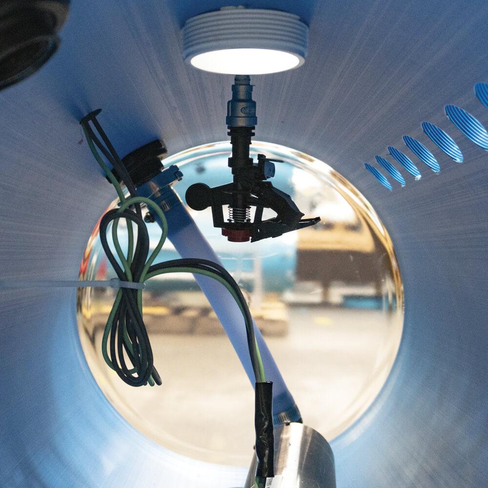 Gicleur autonettoyant pour extracteurs. Extractors self-cleaning kit