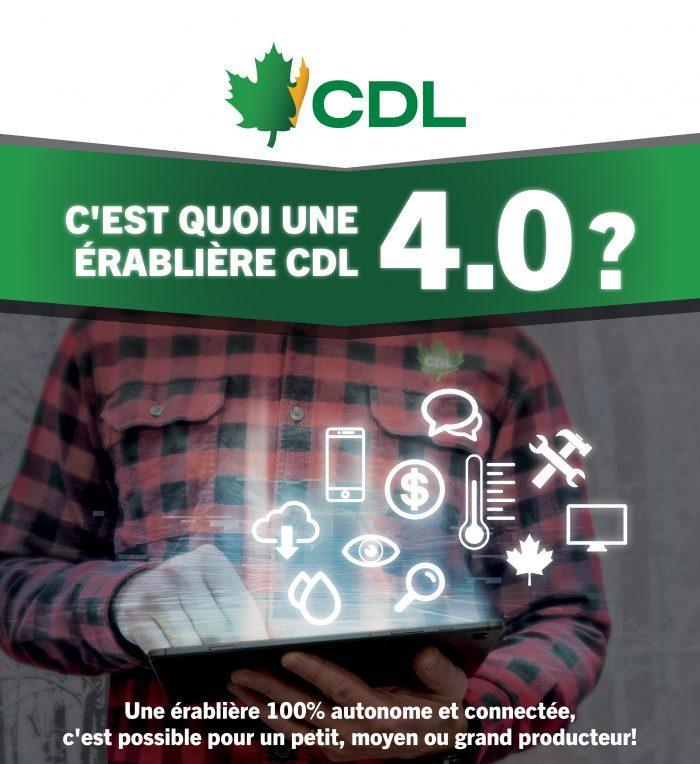 C,est quoi une érablière CDL 4.0?