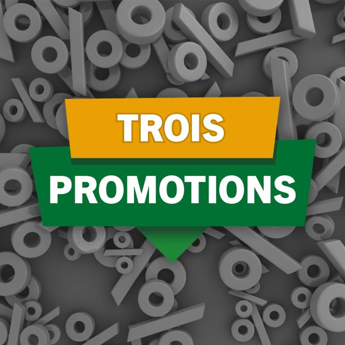 Trois promotions