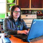 Mélanie Lapointe qui concilie travail, famille et acériculture